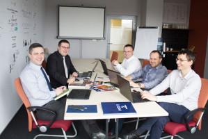 Konsultanci w biurze