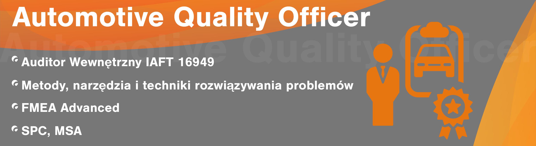 Pakiet Automotive Quality Officer