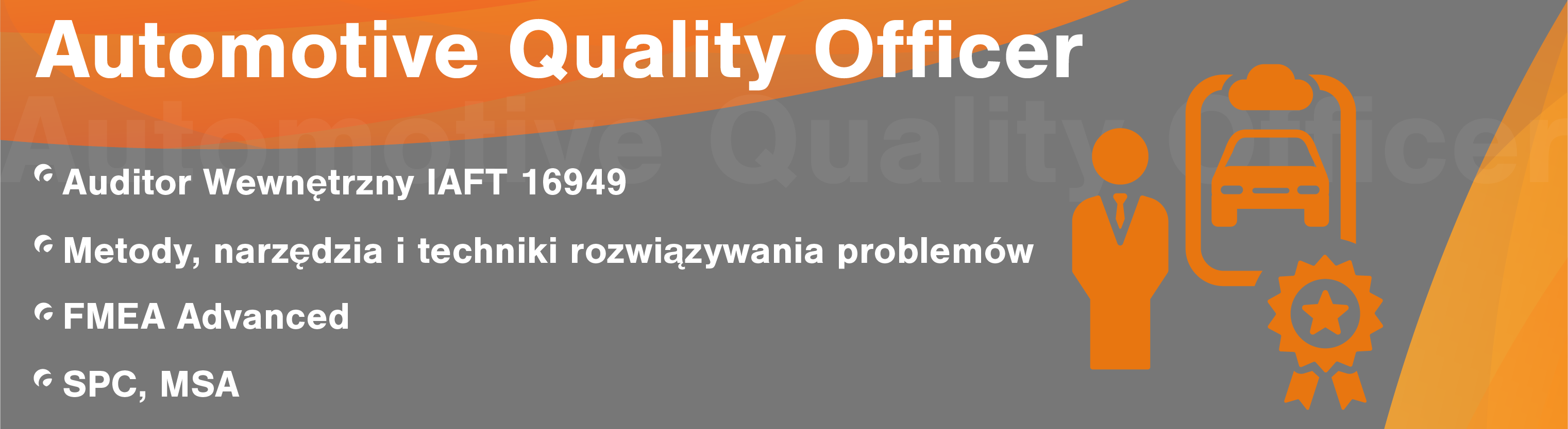 Pakiet Automotive Quality Officer